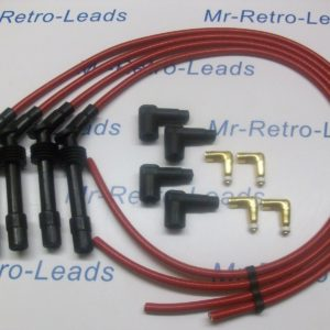 Red 8.5mm Performance Ignition Lead Kit C20xe 2.0 Vauxhall Astra Cavalier Racing