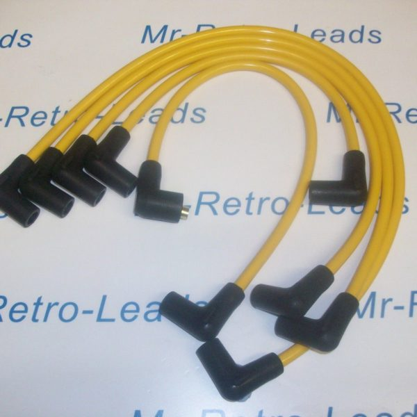 Yellow 8mm Performance Ignition Leads Volvo 480 460 440 2.0 1.7 Turbo B18ft