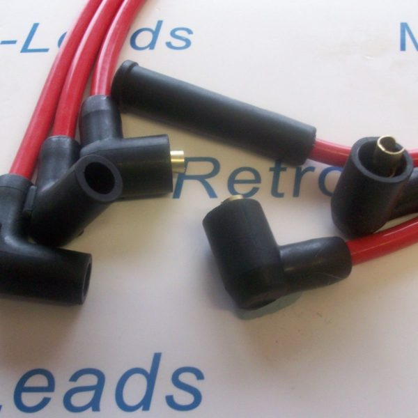 Red Classic Triumph Triple 1973 Performance Ignition Leads Quality Built Leads