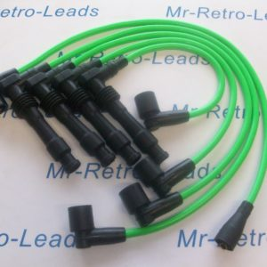Bright Green 8mm Ignition Leads C20let Vauxhall Cavalier Calibra As Bs381-kawi