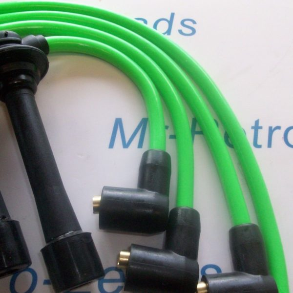 Green 8mm Ignition Leads Mazda Mx5 Mk1 Mk2 1.6 1.8 Eunos As Kawasaki Bs381-kawi