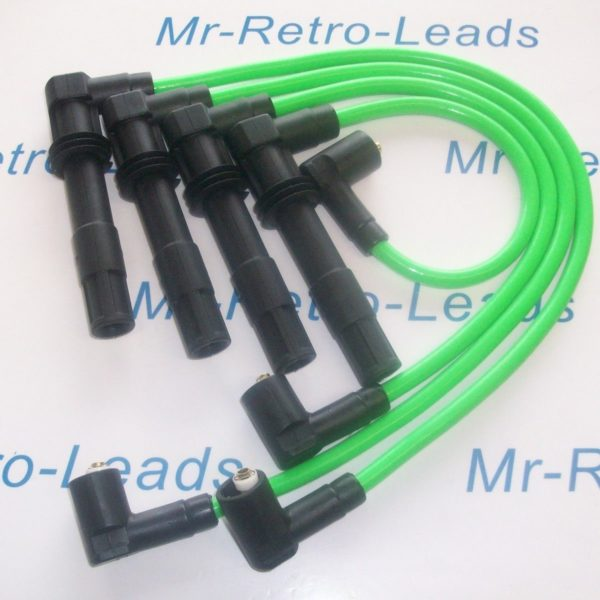 Green 8mm Performance Ignition Leads Vw Lupo 1.6 Gti 1.4 16v As Kawasaki Green