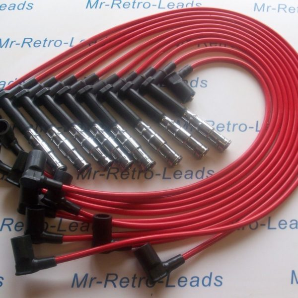 Red 8mm Performance Ignition Leads For Mercedes 500 420 400 E G S Sl M119 Ht