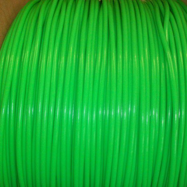 Green 8mm Ignition Leads Fiat Cinquecento Seicento 1.1 Sporting Kawasaki Green