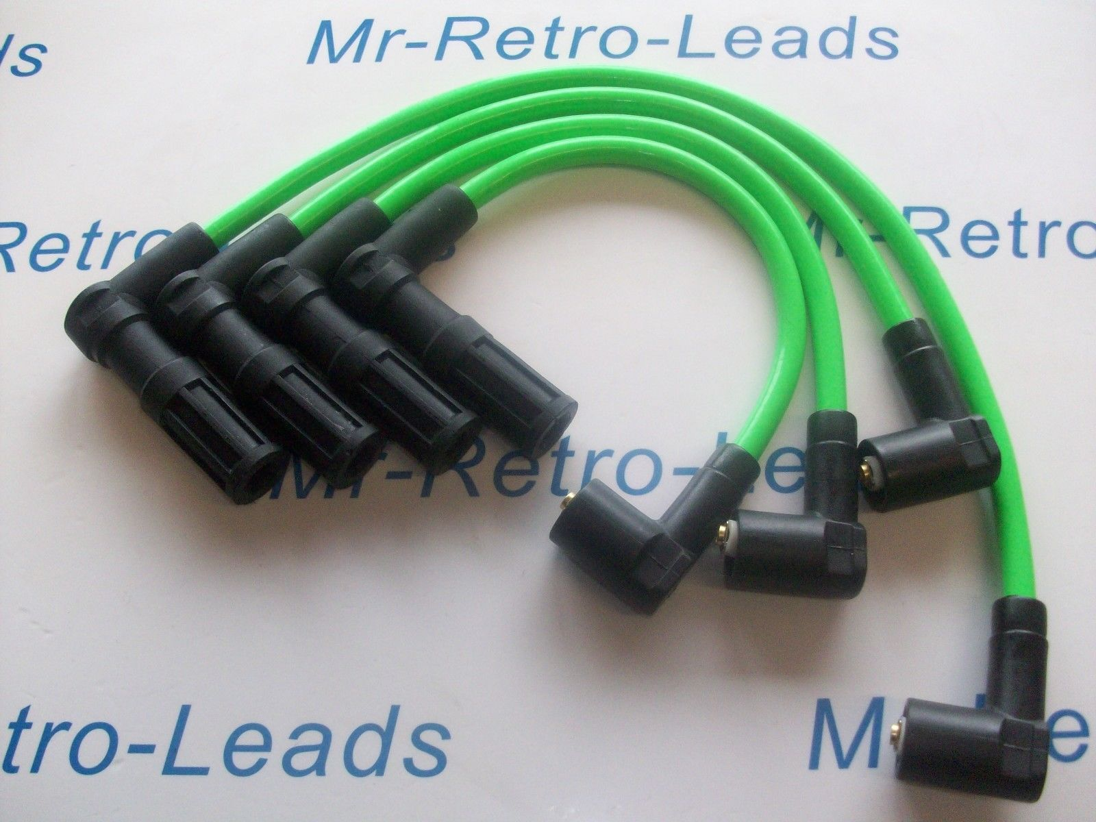 Green 8mm Ignition Leads For Fiat Punto 1 4 Gt Turbo Facet As Kawasaki  Green Ht