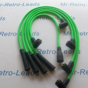 Bright Green 8mm Ignition Leads Vauxhall Nova 1.4 1.3 As Kawasaki Green Din Cap