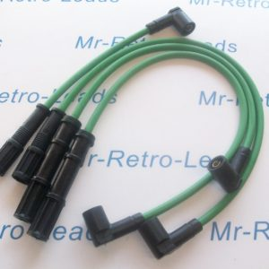 Green 8mm Performance Ignition Leads Fiat Punto Mk2 1999-05 8v 1.1 1.2 Twin Coil