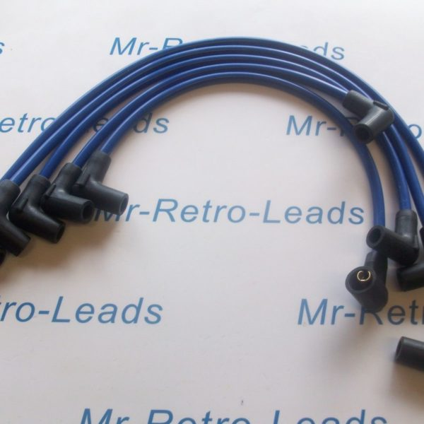 Blue 8mm Performance Ignition Leads Volvo 480 460 440 2.0 1.7 Turbo B18ft