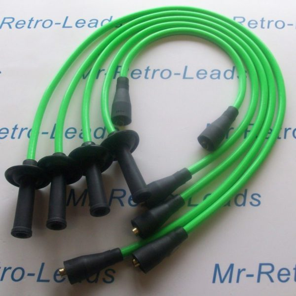 Lime Green 8mm Ignition Leads Vw Transporter Camper T1 T2 Bus Air Cooled 1600