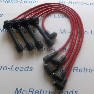 Red 8mm Performance Ignition Leads Will Fit Mazda 323 Turbo Mx-3 Mx-5 Xedos 6