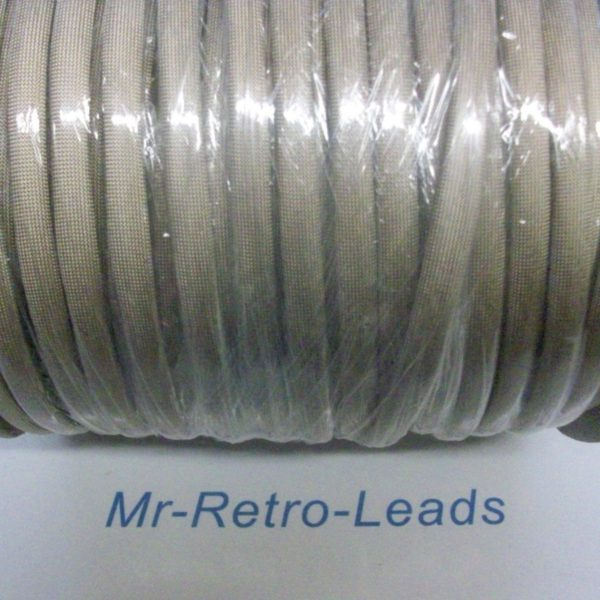 Ignition Lead Resistant Heat Sleeving Braided Glass From 7mm Up To 8.5mm 1 Meter