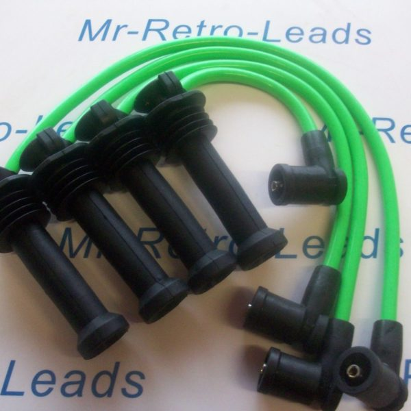 Lime Green 8mm Performance Ignition Leads Zetec S Focus Fusion Puma Quality Ht