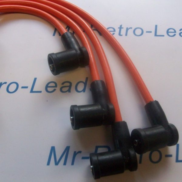 Orange 8mm Performance Ignition Leads Zetec S Focus Fusion Puma Quality Ht Leads