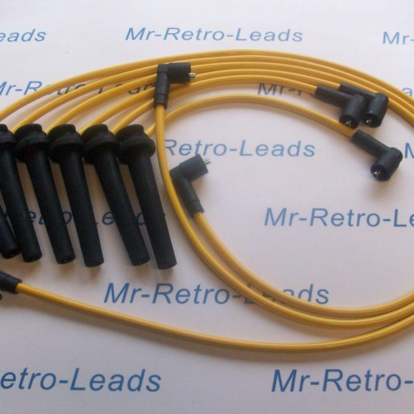 Yellow 8mm Performance Ignition Leads For Ford Mondeo St220 Mkiii 3.0i V6 24v