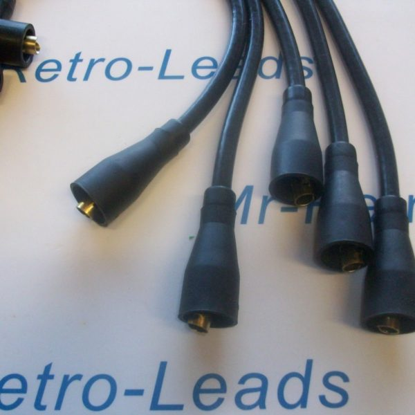 Black 8mm Performance Ignition Leads Willys Jeep 1941 > 1945 Quality Built Leads