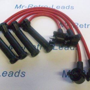 Red 8mm Performance Ignition Leads Ford Puma 1.4 1.7 16v 97 > 04 Quality Leads