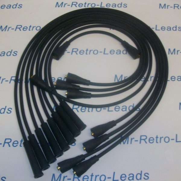 Black 7mm Performance Ignition Leads 1965 > 1983 Rolls Royce Shadow 1/2   6.75