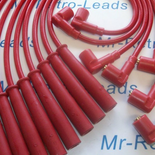 Red 8mm Performance Ignition Leads For The Nus Tt V8 Engine Quality Hand Built