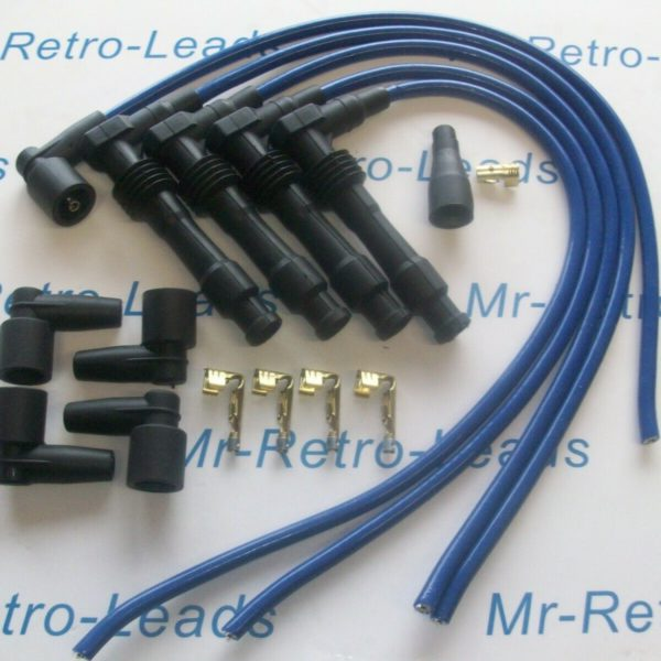 Blue 8mm Performance Ignition Lead Kit C20let C20xe Vauxhall Cavalier Calibra