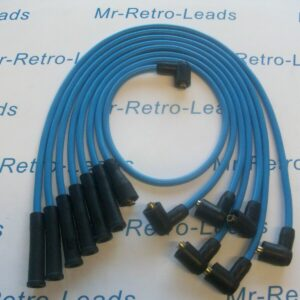 Light Blue 8mm Performance Ignition Leads Ford Capri 2.8 Cologne V6 Ht Leads