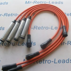 Orange 8mm Performance Ignition Leads For Vauxhall Astra 2.0i Cavalier 2.0i