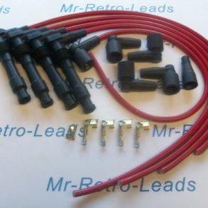 Red 8mm Performance Ignition Lead Kit C20let C20xe Vauxhall Cavalier Calibra