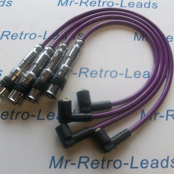 Purple 8mm Performance Ignition Leads Skoda Rapid Octavia Yeti 1.2 Tsi Quality
