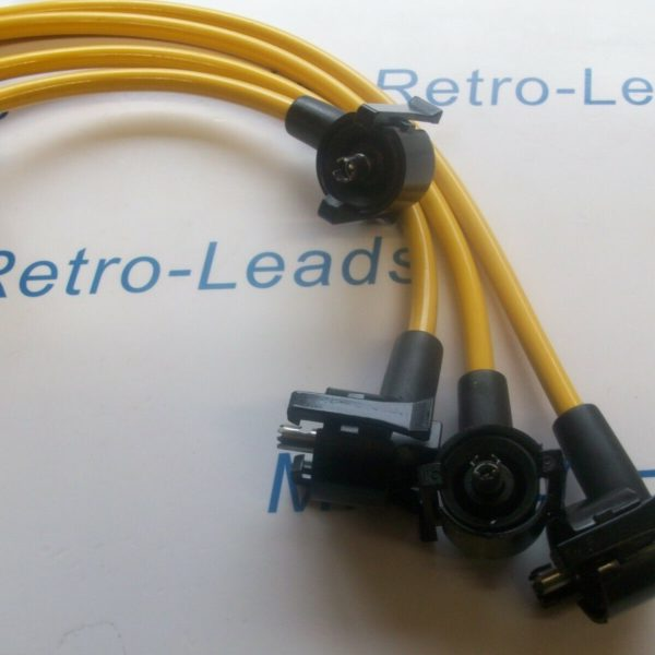 Yellow 8mm Performance Ignition Leads Indy Zetec Silver Top Gen1 Coil Quality
