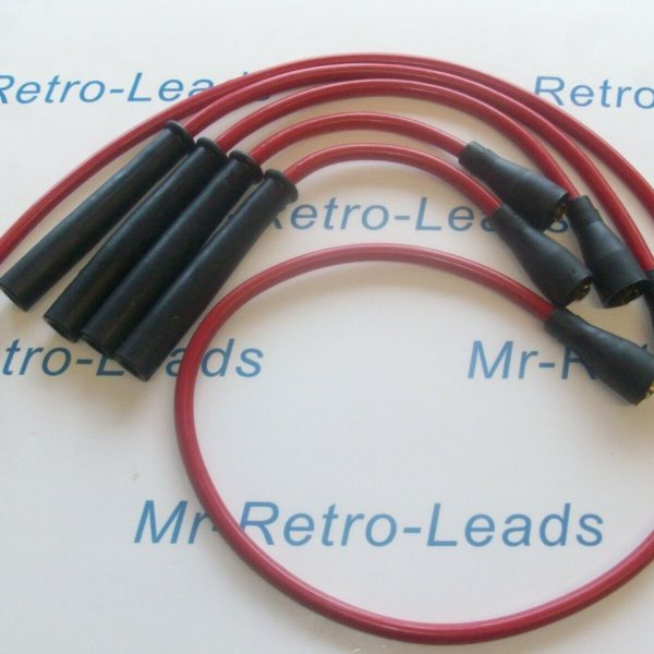 Red 8mm Performance Ignition Leads Volvo B20 Models Long Coil Quality Ht Leads
