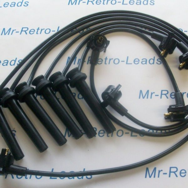 Black 8mm Performance Ignition Leads For The Mondeo Mkii Mki 2.5 V6 24v St24