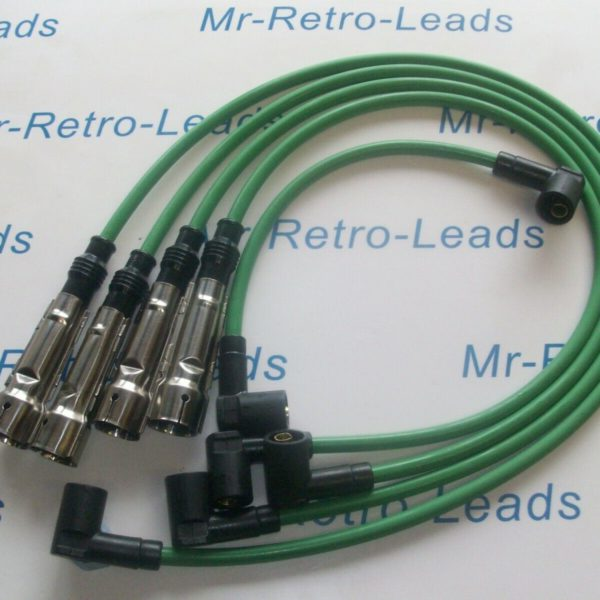 Green 8mm Performance Ignition Leads For The 924 Gt 2.0 Turbo Quality Ht Leads