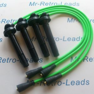 Lime Green 8mm Performance Ignition Leads Subaru Impreza Forester Din Coil