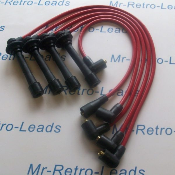 Red 8.5mm Performance Ignition Leads For The 323 Turbo Mx-3 Mx-5 Xedos 6 Quality
