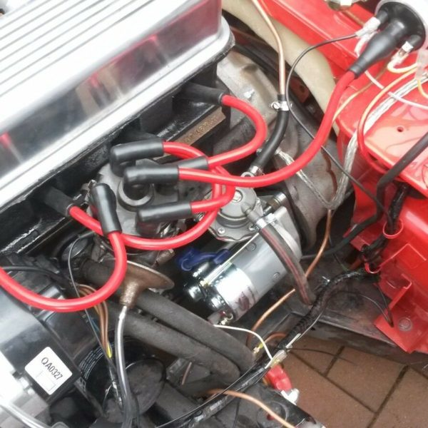 Red 8.5mm Performance Ignition Leads Triumph Spitfire Mkiv 1.5 1.3 Hand Built Ht