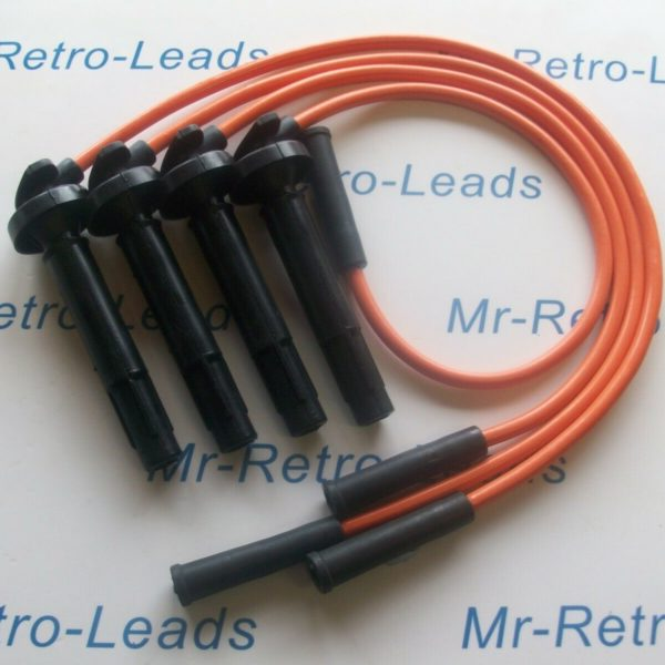Orange 8mm Performance Ignition Leads Will Fit Subaru Impreza Legacy Quality Ht