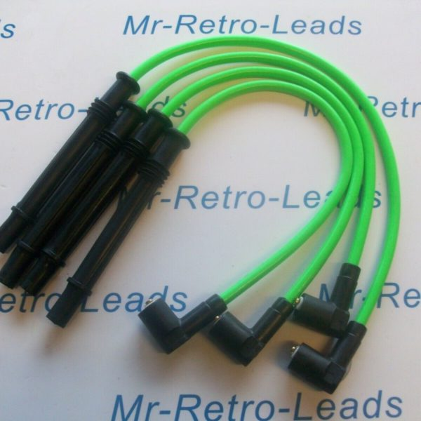 Lime Green 8mm Performance Ignition Leads Clio Twingo 1.2 Turbo Modus D4f 16v
