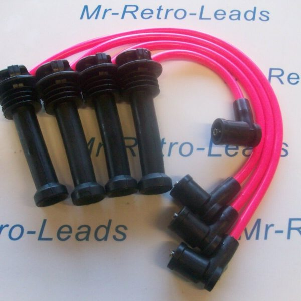 Pink 8mm Performance Ignition Leads For The Focus Zetec 1.8 Quality Ht Leads