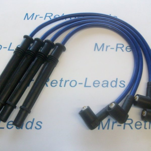 Blue 8.5mm Performance Ignition Leads For Clio Twingo 1.2 Turbo Modus D4f 16v