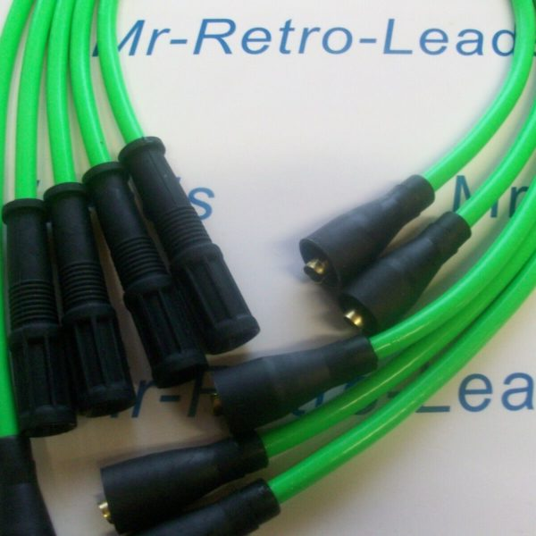 Lime Green 8mm Performance Ignition Leads Ritmo Abarth Argenta Mirafiori 131 132