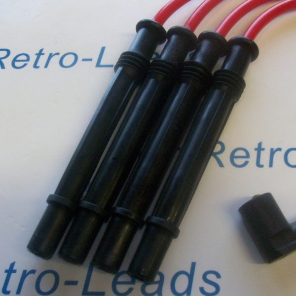 Red 8.5mm Performance Ignition Leads For The Clio Twingo 1.2 Turbo Modus D4f 16v