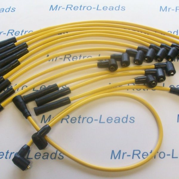 Yellow 8mm Performance Ignition Leads E-type S3 Roadster E-type S3 2+2 Quality