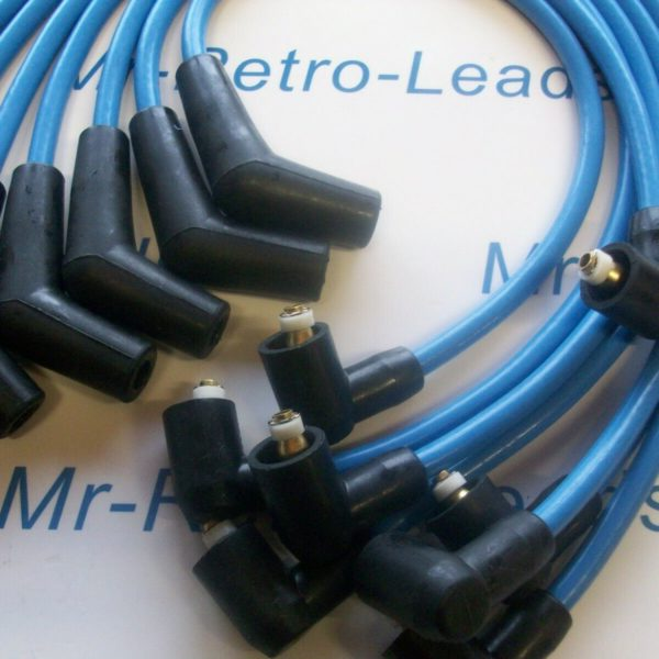 Light Blue 8mm Performance Ignition Leads Range Rover 3.9 4.0 4.6 Discovery 4.0