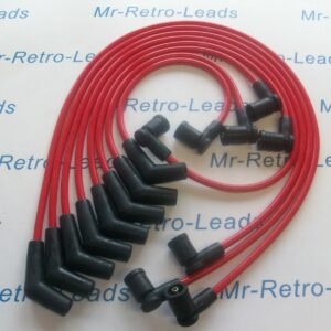 Red 8.5mm Performance Ignition Leads For Tvr Chimaera V8 Gen 2 Coil Pack Ht.