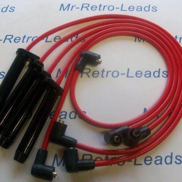 Red 8mm Performance Ignition Leads Scorpio Mk1 Dohc Sierra 2.0 Dohc Granada Mk3