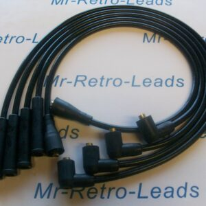 Black 8mm Performance Ignition Leads Escort Series 2 / Phase 2 Rs Turbo