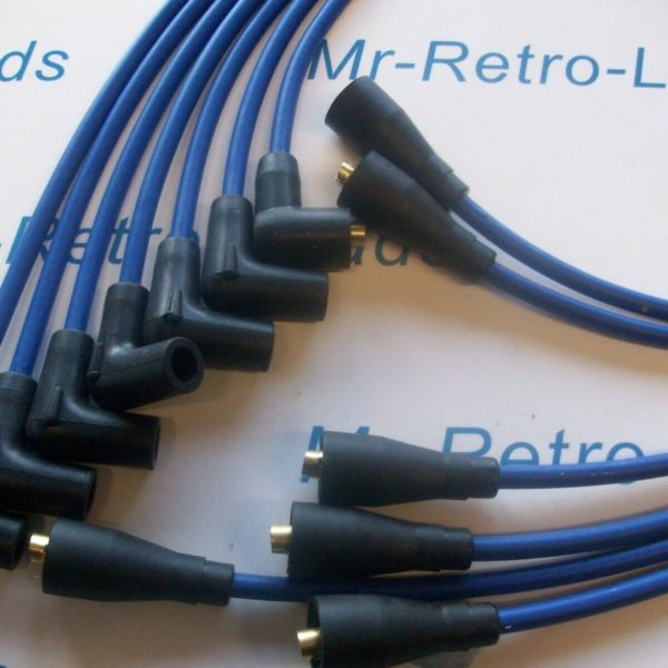 Blue 7mm Performance Ignition Leads For Jaguar Mk 2 Xj6 Xk 6 Cyl Quality Leads