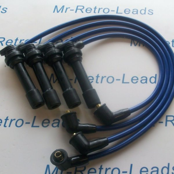 Blue 8.5mm Performance Ignition Leads For 323f 1.5 Engine Code Z5 323c 323p 16v