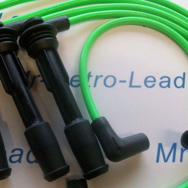 Lime Green 8mm Performance Ignition Leads Williams 19 Clio 2.0i 1.8i 1.7i 16v