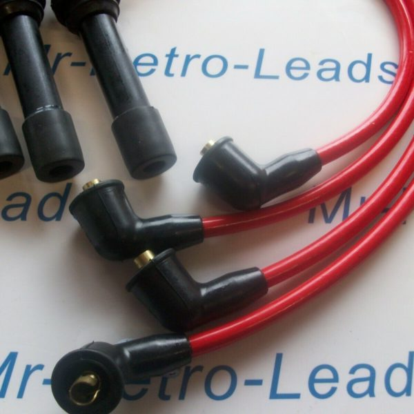 Red 8.5mm Performance Ignition Leads For 323f 1.5 Engine Code Z5 323c 323p 16v