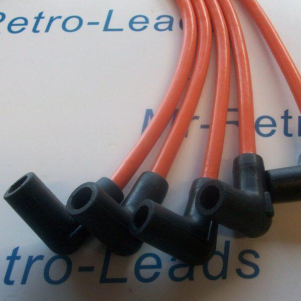 Orange 8mm Performance Ignition Leads Wrangler Jeep Cj7 2.5 4-cyl Quality Leads